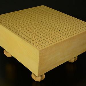 金牌 几十年新榧木围棋墩