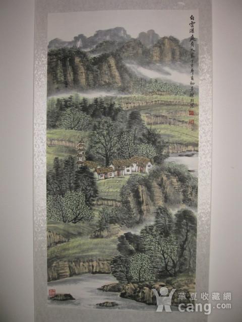 中国美协会员,广东画家袁景杰山水。四尺整张图2