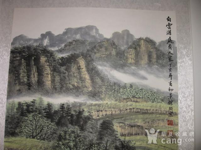 中国美协会员,广东画家袁景杰山水。四尺整张图3