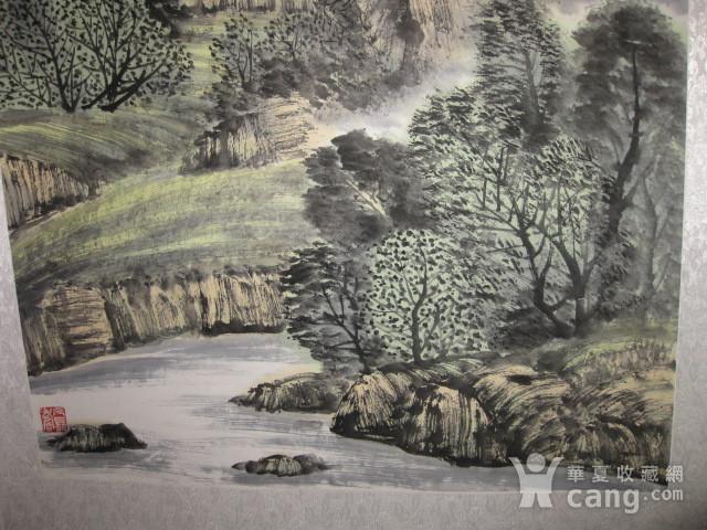 中国美协会员,广东画家袁景杰山水。四尺整张图5