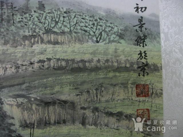 中国美协会员,广东画家袁景杰山水。四尺整张图7