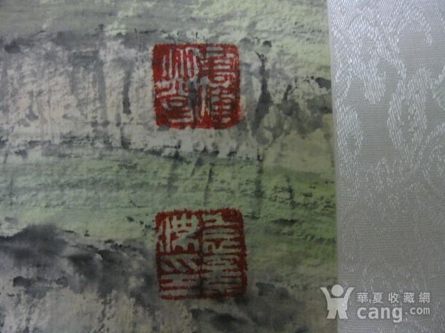 中国美协会员,广东画家袁景杰山水。四尺整张图8