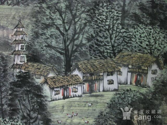 中国美协会员,广东画家袁景杰山水。四尺整张图9
