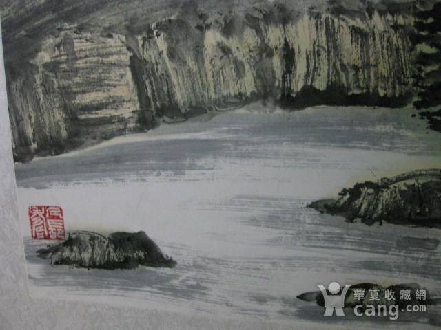 中国美协会员,广东画家袁景杰山水。四尺整张图11