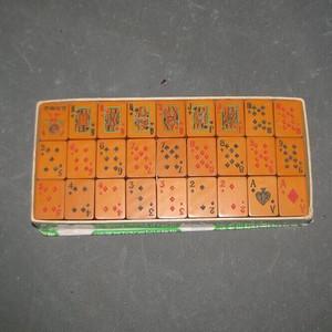 非常少见民国牌型老扑克