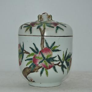 几十年老瓷罐