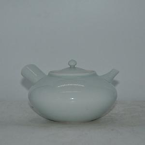 日本白瓷茶壶