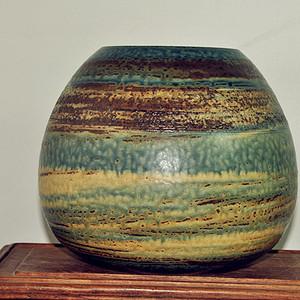 日本信乐烧陶瓷罐