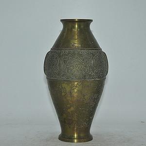 日本铸铜花瓶