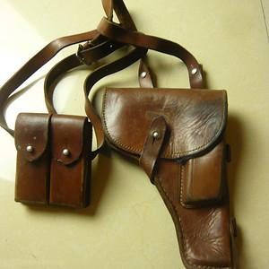金牌 民国初期54式手枪皮套 全品