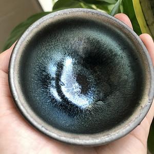 现代大师级手作建窑茶盏