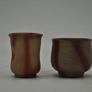 日本茶道陶瓷对杯