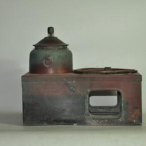 日本茶道专用铜炉