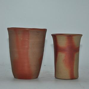 日本陶瓷茶杯一对
