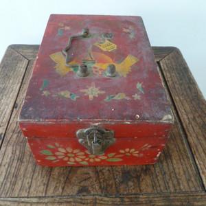 红色收藏 文革时期镜箱