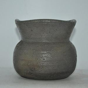 日本灰釉陶瓷花器