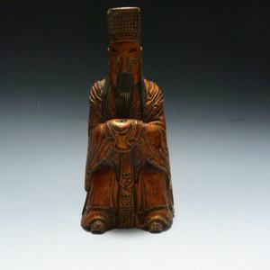清代木雕佛像