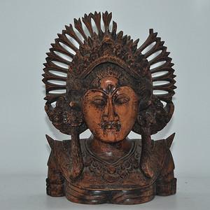 百年以上硬木女神雕像