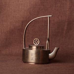 极品创汇时期回流老铜精铸提梁壶