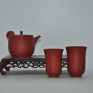 日本常滑烧紫砂茶具一套