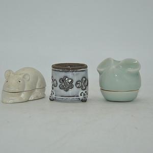 日本瓷香盒
