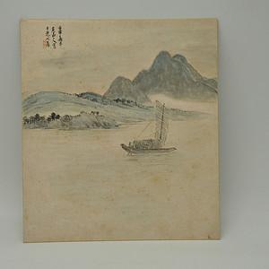 日本尾山人风景画