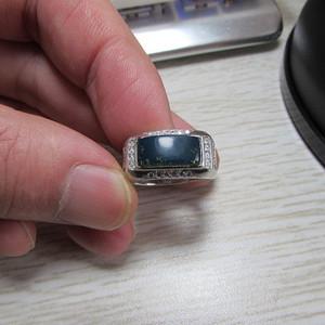 多米蓝珀戒指