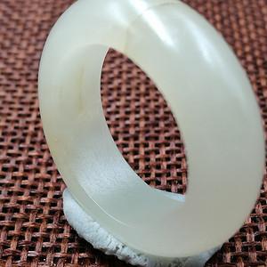 清,和田白玉籽料戒指