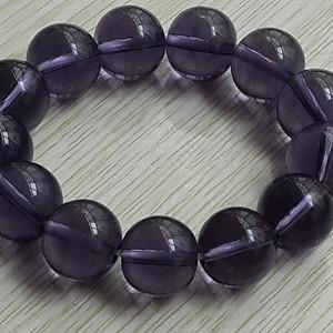 天然葡萄紫水晶手链