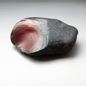 天然盐源七彩玛瑙原石籽料