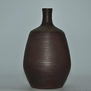 日本備前烧花瓶