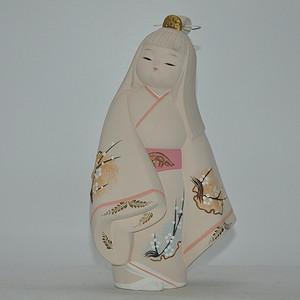 日本仕女塑像