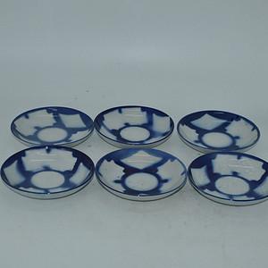 日本小瓷碟六件套