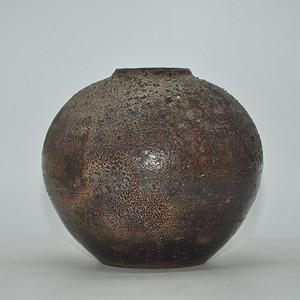 日本備前烧瓷罐