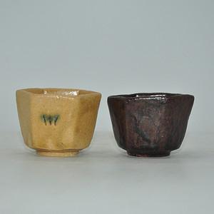 日本茶道六角对杯