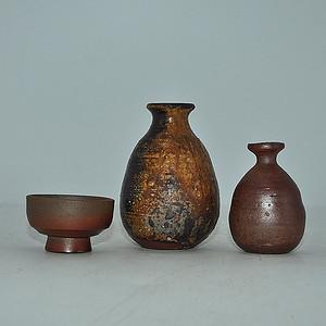 日本陶瓷小器皿三件