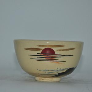 50年左右日本粉彩瓷碗