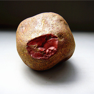 天然南红玛瑙原石籽料