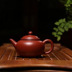 徐萍 原矿朱泥大红袍 水平壶