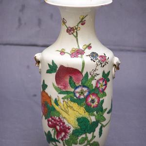 粉彩描金瓶