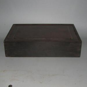 老红木麻将盒子