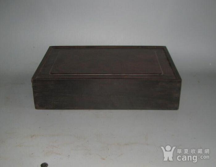 老红木麻将盒子图1