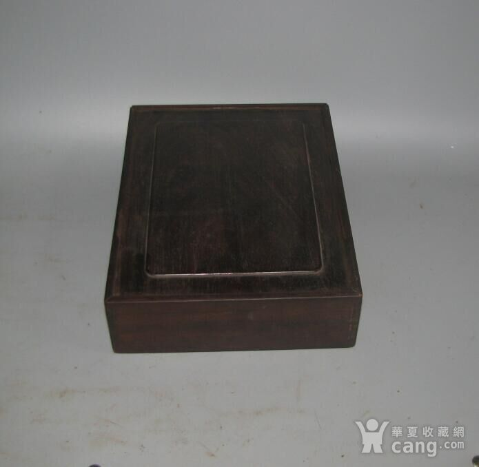 老红木麻将盒子图3