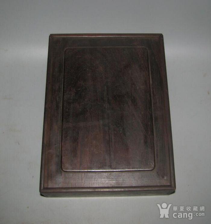 老红木麻将盒子图2