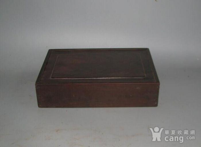 老红木麻将盒子图4
