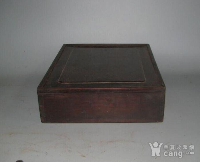 老红木麻将盒子图5