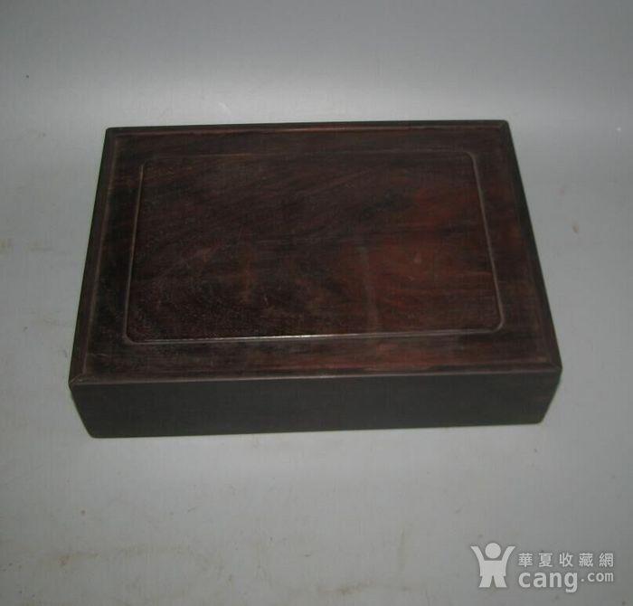 老红木麻将盒子图9