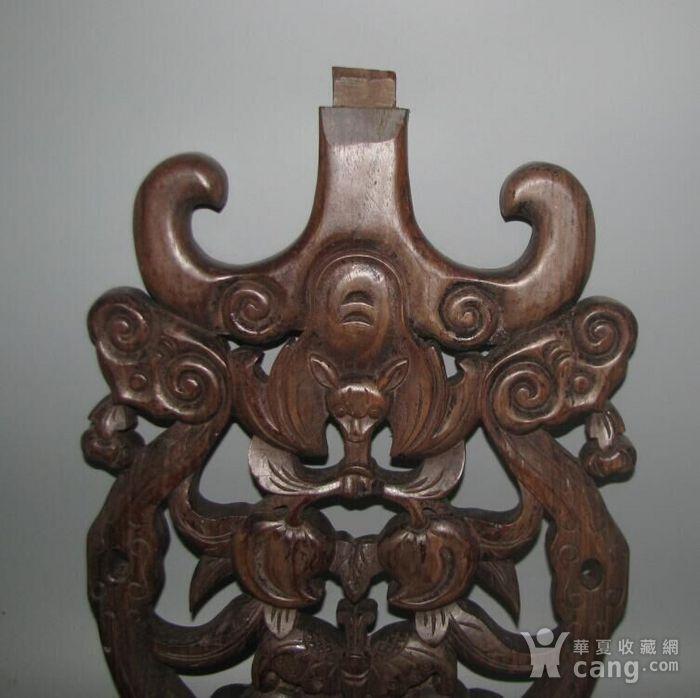 红酸枝雕刻板图2