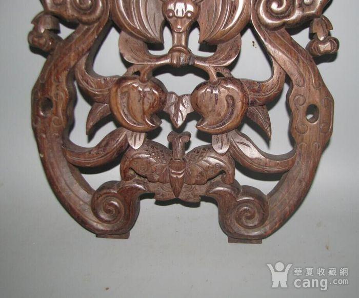 红酸枝雕刻板图3
