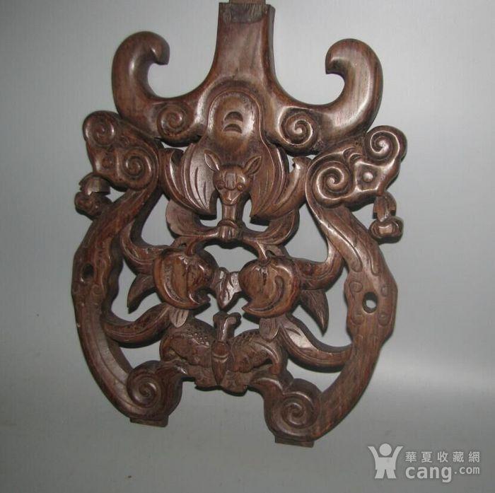 红酸枝雕刻板图5
